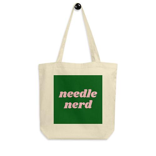 Needle Nerd Eco Tote Bag