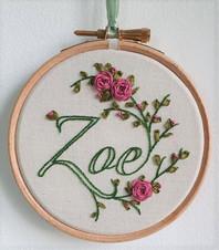 Zoe personalised name gift