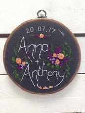 Anna and Anthon wedding gift