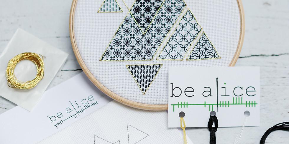 Blackwork Triangles ¦ €60