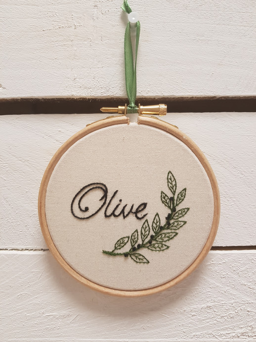 Olive christening gift