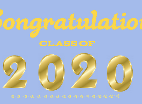Class of 2020: This Is for You!