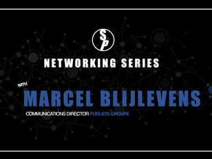 Networking with Marcel Blijlevens, Communications Director Publicis Groupe