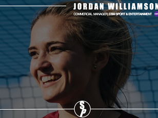 Networking with Jordan Williamson, Commercial Manager at CSM Sport & Entertainment
