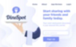 DineSpot Landing Page.png