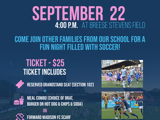 A Night at the Pitch with Forward Madison FC