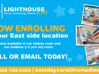 Now Enrolling at our East Side location