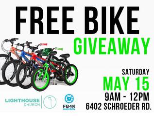 Free Bike Giveaway