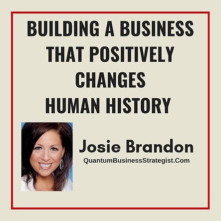 Josie Brandon Quantum Business Strategist Top Female Global Speaker