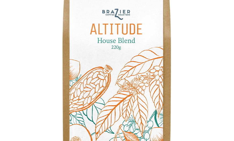 ALTITUDE, ground coffee, 220g