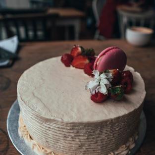 Vegan, Gluten-free birthday cake