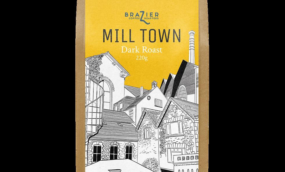 MILL TOWN, ground coffee, blend, 220g