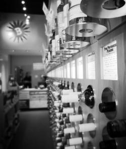 wine shelf talkers