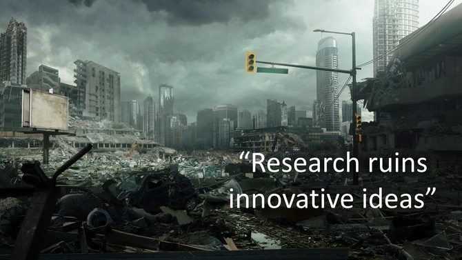 Research Ruins Innovative Ideas
