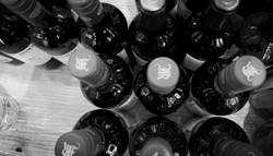 wine bottles necks
