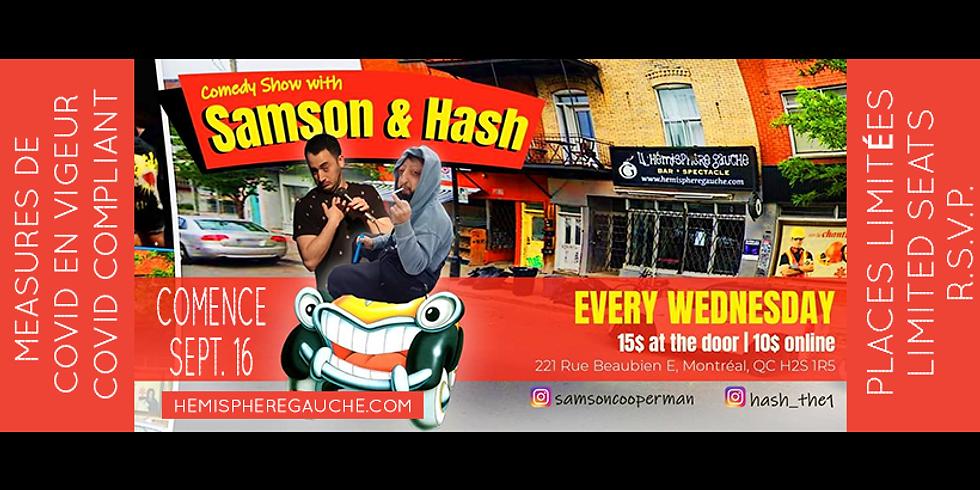 Samson & Hash Bilingual Smackdown