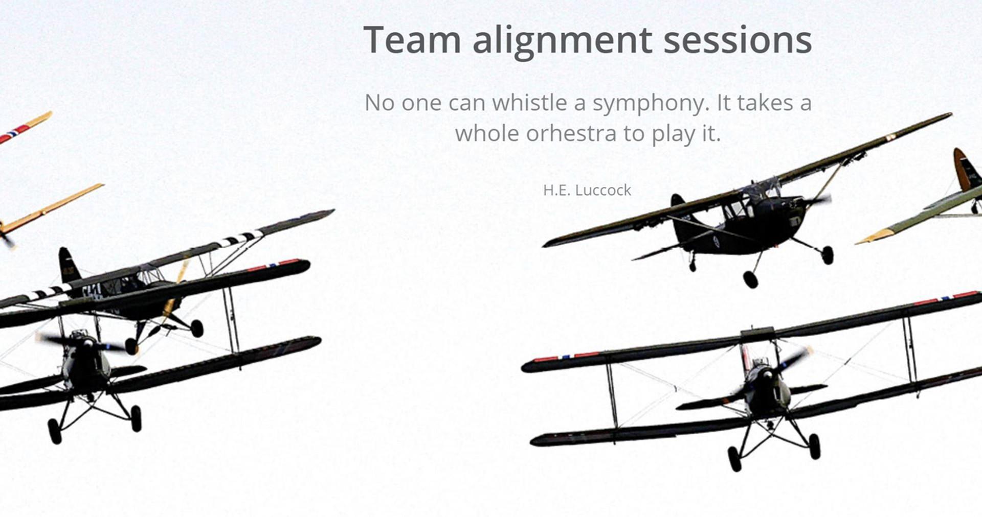 Team alignment