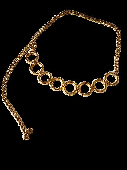Cinto Links Dourado