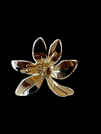 Anel Lirio Dourado