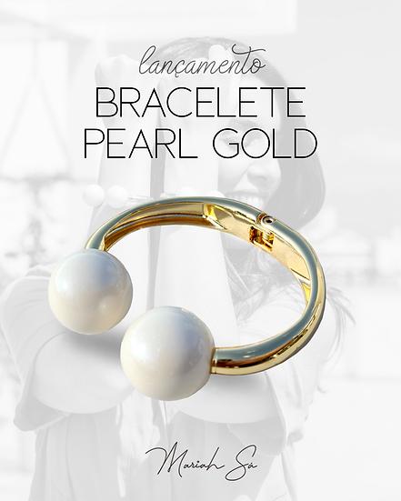 Bracelete Pearl Gold
