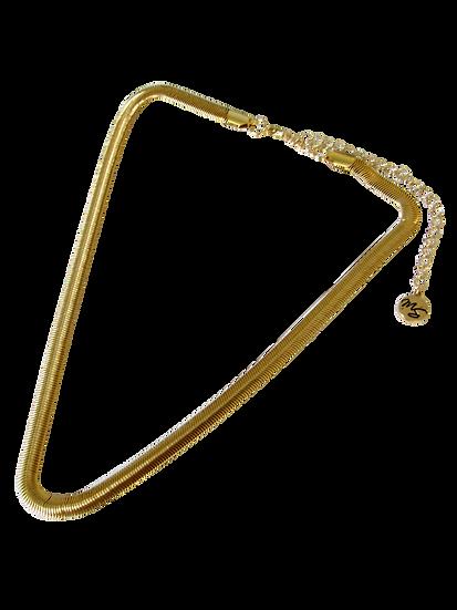 Colar Snake Dourado