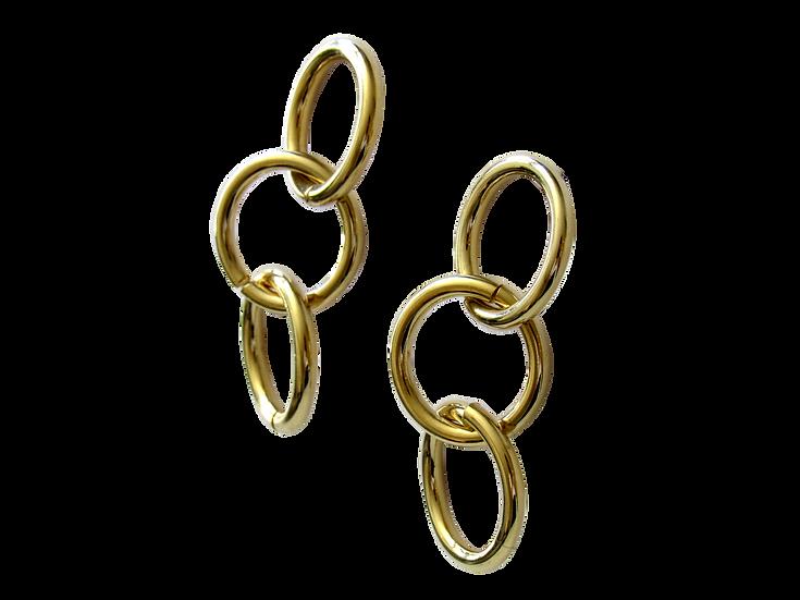 Brinco Cercle Dourado