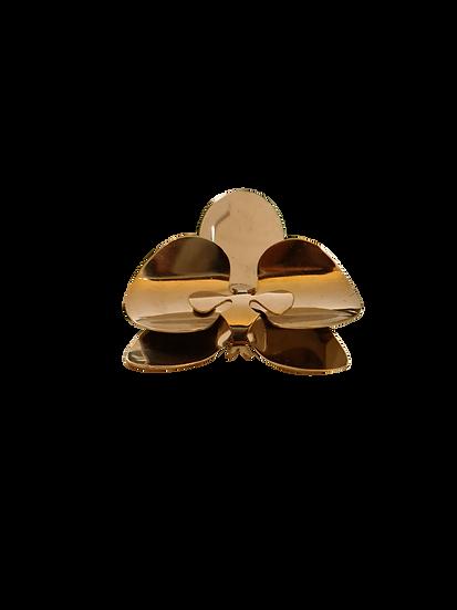 Anel Orquidea Dourado