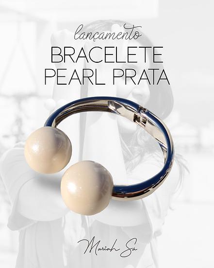 Bracelete Pearl Prata