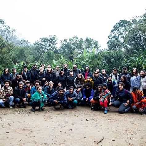 Maravilhosa equipe do projeto MAPA, na a