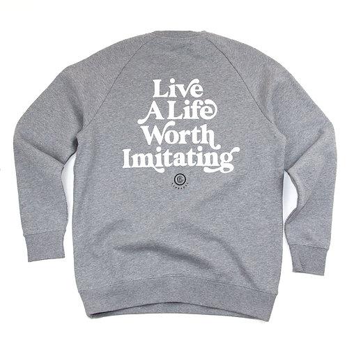 Puff Tagline Crew Sweatshirt