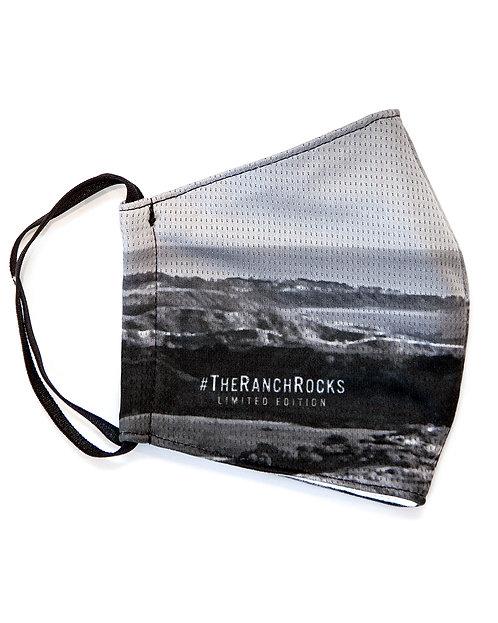 #TheRanchRocks - B&W - Face Masks