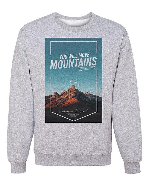 Move Mountains - Crew Sweatshirt
