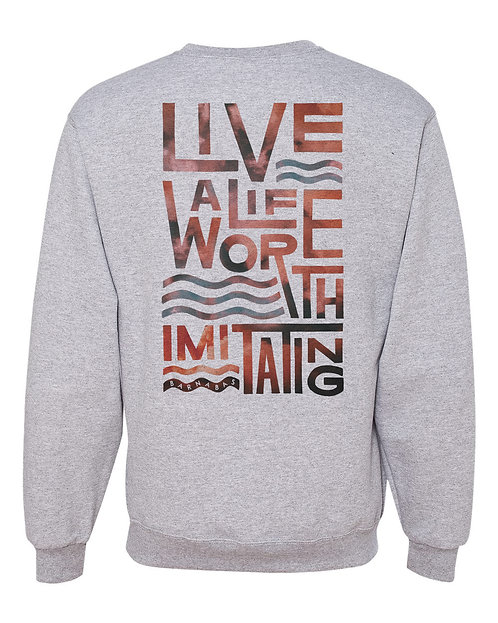 New Tagline - Crew Sweatshirt