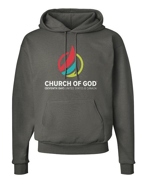 COG7: Hooded Sweatshirt - Charcoal