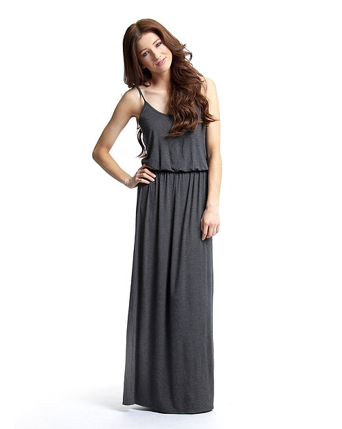 Maxi Dress - Heather Charcoal