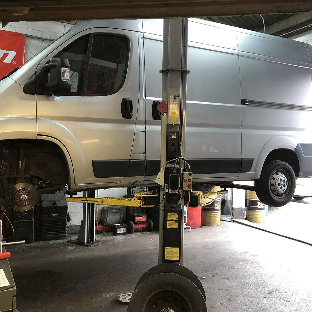 We can work on vans too!