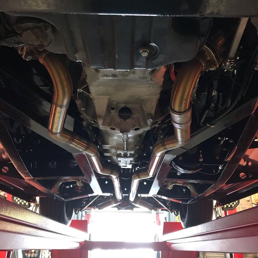 Bespoke chassis 4 wheel alignment.