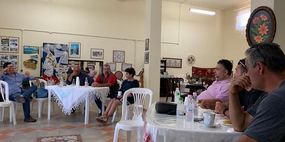 11-12.7.2020 Επίσκεψη σε Λάκκωμα και Νέα Γωνιά