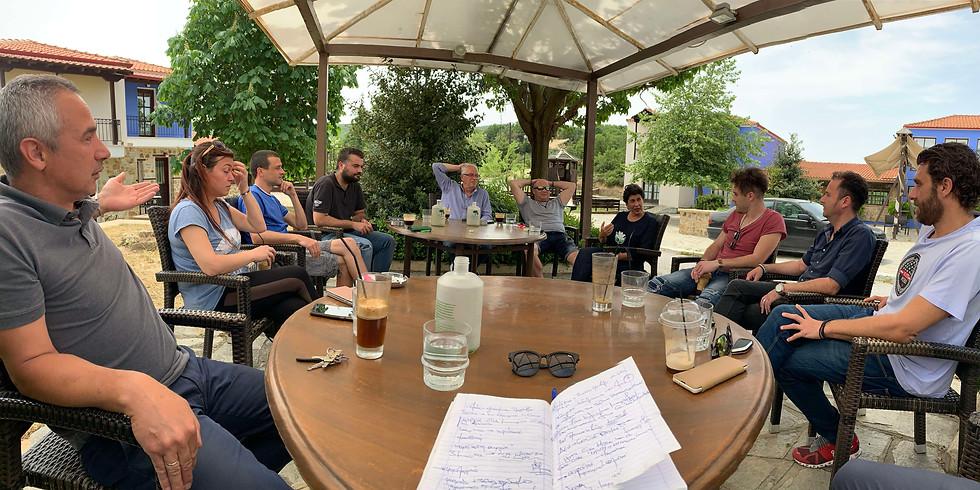18.5.2020 Συνάντηση με επαγγελματικούς φορείς του Δήμου Αριστοτέλη