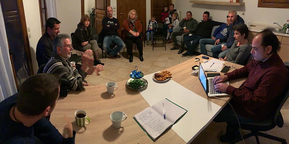 23.2.2020 Σύσκεψη με παραγωγικούς φορείς στην Ιερισσό