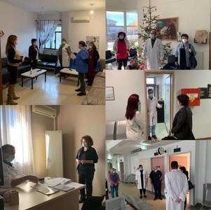 Ταλαιπωρία κι αναποτελεσματικότητα στη διαδικασία εμβολιασμού των πολιτών της Χαλκιδικής.