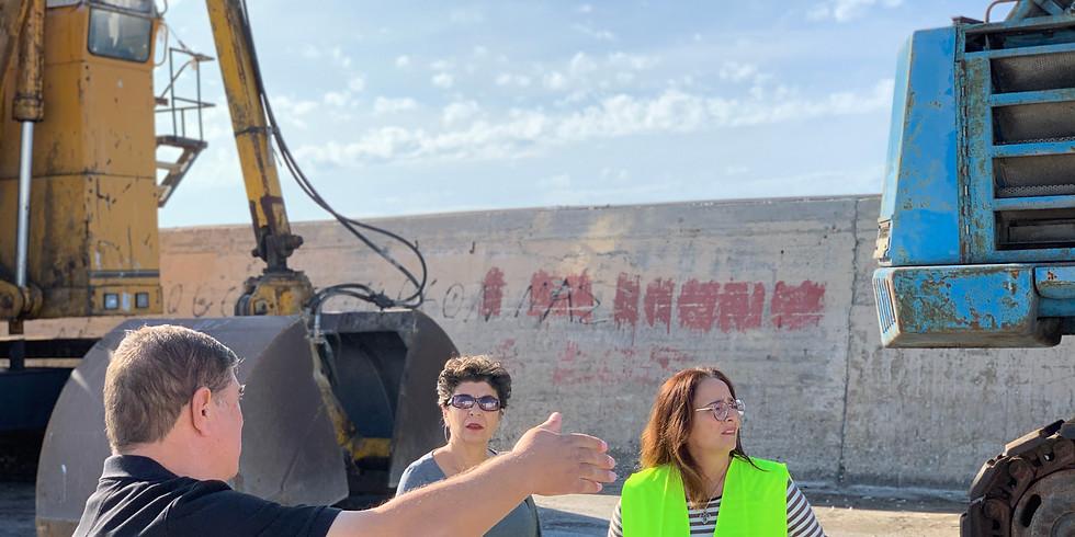 12.11.2019 Επίσκεψη στον λιμένα Νέων Μουδανιών
