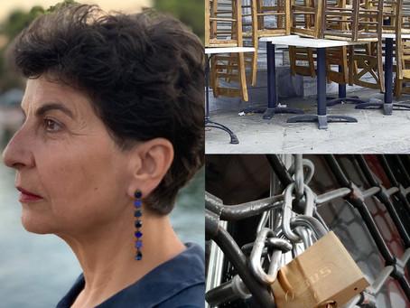 Επαγγελματίες κι εργαζόμενοι των καταστημάτων της Χαλκιδικής καταστρέφονται με ευθύνη της κυβέρνησης