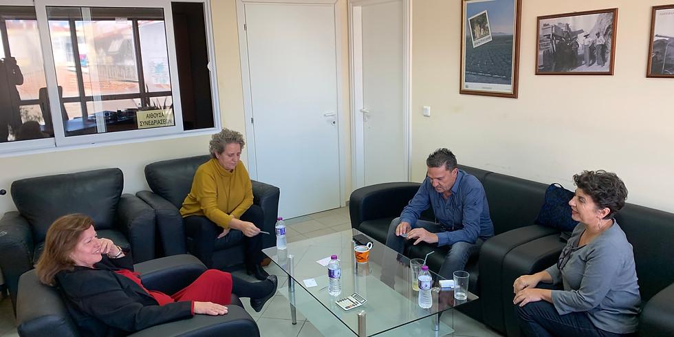 """11.11.2019 Επίσκεψη στον αγροτικό συνεταιρισμό της Χαλκιδικής """"Η Ένωση"""""""