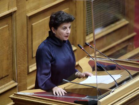 Κ. Μάλαμα : Οι χυδαιολογίες της κυρίας Αντωνίου δεν μπορούν να καλύψουν το κενό έργου της.