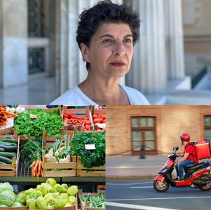 Στρεβλώσεις στην λειτουργία της αγοράς στη Χαλκιδική από τις έκτακτες υγειονομικές απαγορεύσεις.
