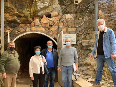 Να συμβάλλουμε όλοι στην ανάδειξη του μοναδικού μνημείου του Σπηλαίου των Πετραλώνων.