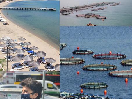 Σοβαρά ερωτήματα σε σχέση με το σχέδιο δημιουργίας μεγάλης μονάδας υδατοκαλλιέργειας στην Ολυμπιάδα