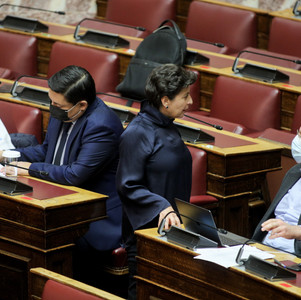 Άνευ αντικειμένου η ομιλία του Υφυπουργού Μακεδονίας - Θράκης για τον προϋπολογισμό.
