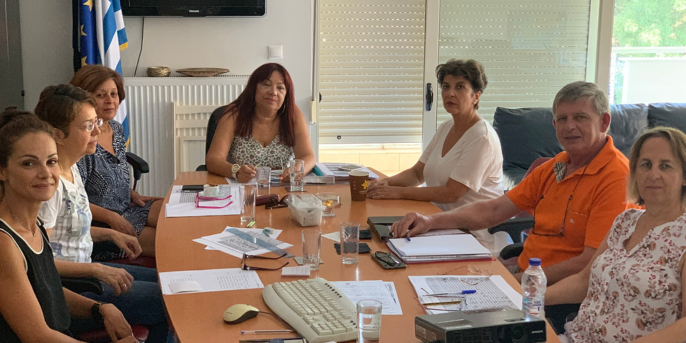 31.8.2019 Επίσκεψη στις Διευθύνσεις Εκπαίδευσης και σε δημόσια ΙΕΚ